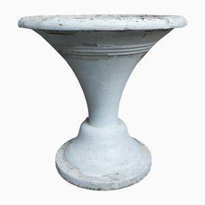 Large Concrete Garden Vase, 1950s