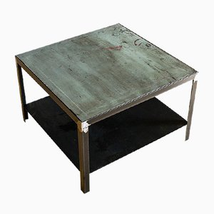 Table Basse Industrielle, 1950s