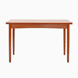 Moderne Esstisch aus Teak, 1960er