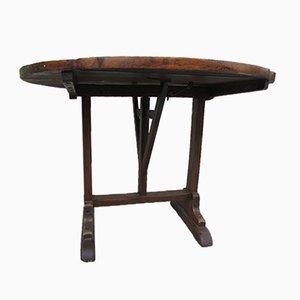 Runder antiker französischer Tisch