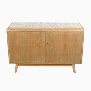 Vintage Granite Top Cabinet by Bohumil Landsman for Jitona