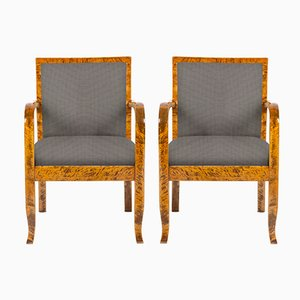 Customizable Vintage Scandinavian Armchairs, Set of 2