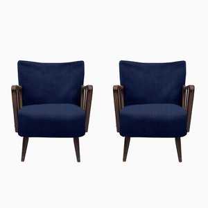 Customizable Vintage Lounge Chairs, 1950s, Set of 2