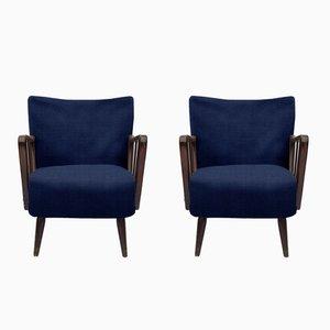 Personalisierbarer Vintage Sessel, 1950er, 2er Set