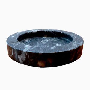 Posacenere in marmo nero, anni '60