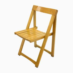 Vintage Folding Chair by Aldo Jacober for Alberto Bazzani, 1970s