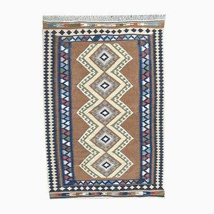 Türkischer Vintage Anatolia Kilim Teppich