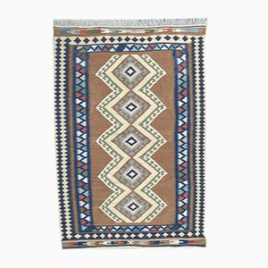 Vintage Turkish Anatolia Kilim Rug