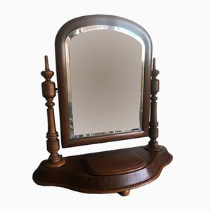Antique Biedermeier Vanity Mirror