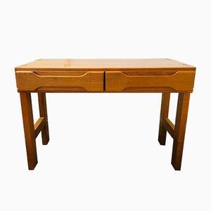 Schreibtisch aus Ulmenholz, 1970er