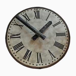 Vintage Industrial Clock, 1920s