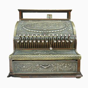 Antique Cash Register from the National, 1895