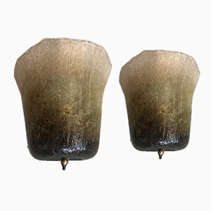 German Wall Sconces from Peill & Putzler, 1970s, Set of 2