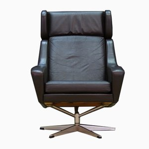 Vintage Danish Swivel Chair