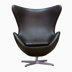 Modell 3316 Sessel in Ei-Optik von Arne Jacobsen für Fritz Hansen, 1980er