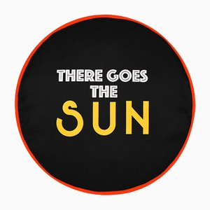 Funda de cojín There Goes The Sun de Bernhard Willhelm para Henzel Studio, 2014