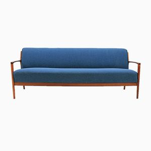 Danish Teak Sofa or Daybed, 1960s