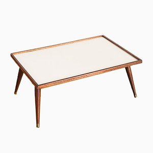 French Teak and Formica Tray Table, 1960s