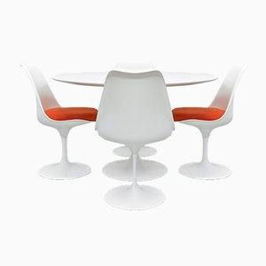 Mid-Century Tulip Dining Set by Eero Saarinen for Knoll International, 1978