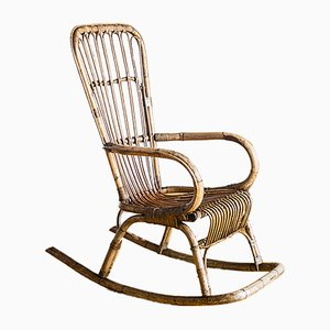 Vintage Spanish Rocking Chair, 1960s