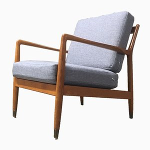Swedish Mid-Century Teak Easy Chair by Folke Ohlsson for Dux, 1960s