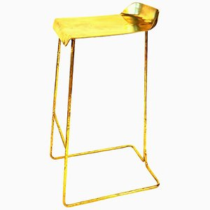 Brass Stool by Misaya