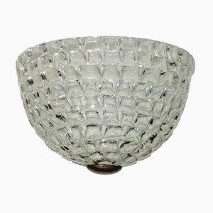 Art Deco Deckenlampe aus Muranoglas von Ercole Barovier, 1930er