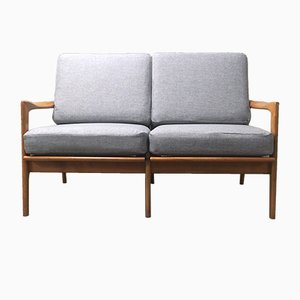 Danish Mid-Century Two-Seater Sofa in Beech, 1960s