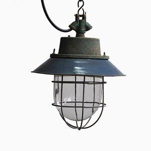 Industrial Factory C-11 Hanging Lamp, 1960s