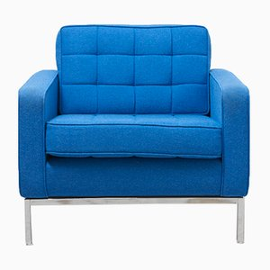 Blue Easy Chair by Florence Knoll for Knoll, 1968