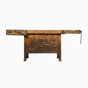 Vintage French Workbench