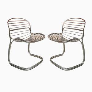 Sabrina Chairs by Gastone Rinaldi for Rima, 1970s, Set of 2