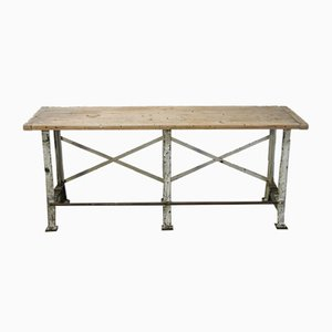 French Industrial Bench, 1920s