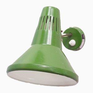 Grüne Wandlampe, 1970er