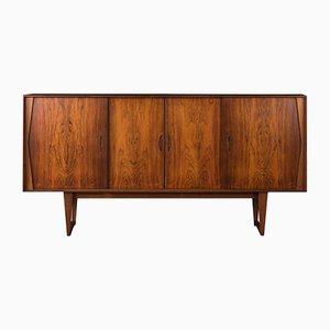 Aparador danés con mueble bar de Kurt Østervig, años 60