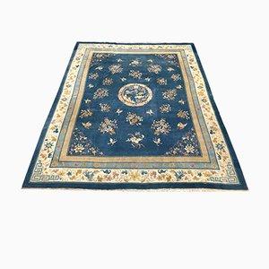 Großer chinesischer Vintage Teppich
