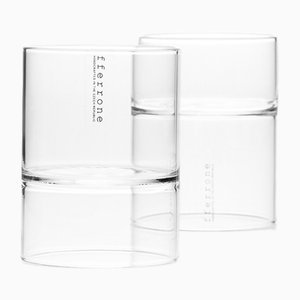 Revolution Martini Glasses by Felicia Ferrone for fferone, Set of 2