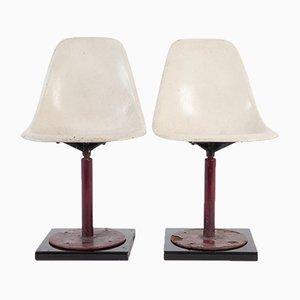 Chaises Shell de Herman Miller 1960s, Set de 2