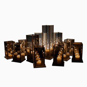 Kaléido Candleholders by Arturo Erbsman, set of 12