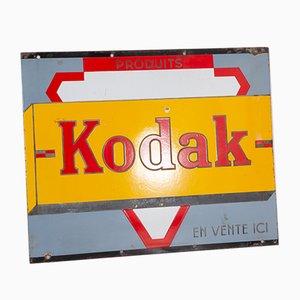 Cartel de Kodak de dos caras, años 50