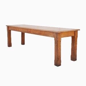 Antiker Speisesaal Tisch aus Eiche