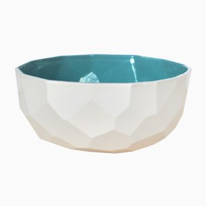 Green Poligon Bowl from Studio Lorier