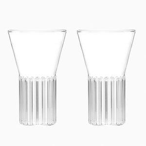 Bicchieri Rila piccoli di Felicia Ferrone per fferrone, set di 2