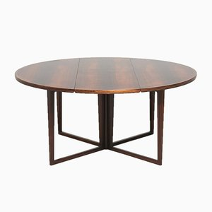 Rosewood Dining Table by Helge Sibast for Sibast, 1960s