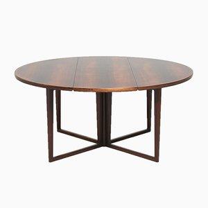 Tavolo da pranzo in palissandro di Helge Sibast per Sibast, anni '60