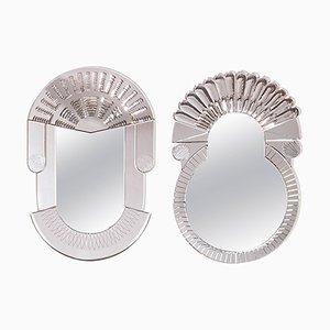 Scena Spiegel aus Muranoglas von Nikolai Kotlarczyk