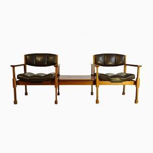 Mid-Century 2-Sitzer Sofa