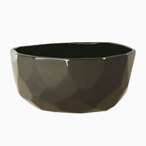 Black Poligon Bowl from Studio Lorier