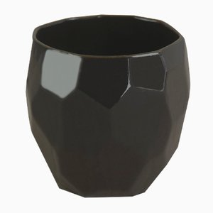 Black Poligon Espresso Cup from Studio Lorier
