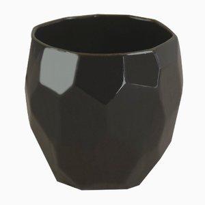 Tazzina poligonale nera di Studio Lorier